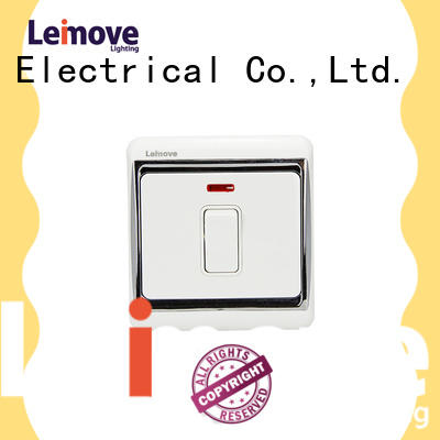 Leimove four stilts switches and sockets popular for wholesale
