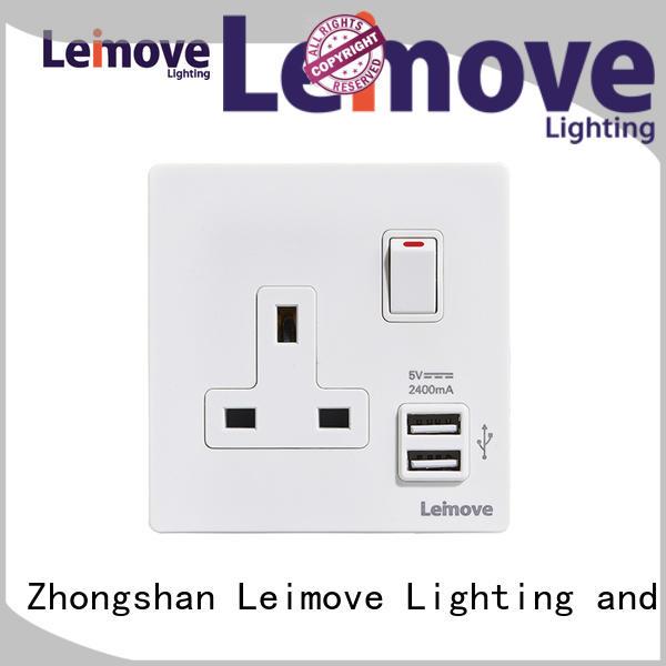 Leimove lingmai series 2 plug socket ODM at discount