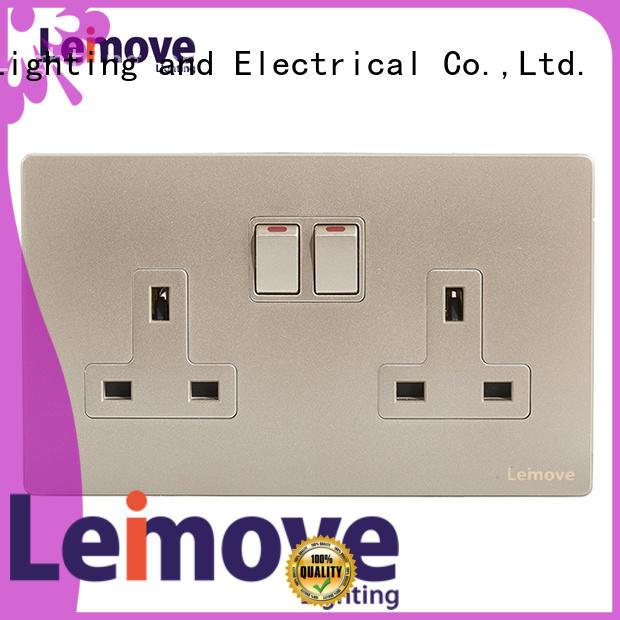 Leimove gold plug and socket wholesale at discount
