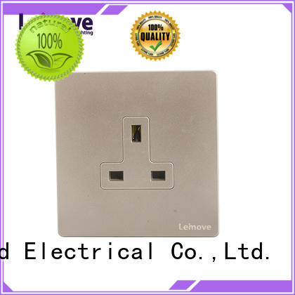 Leimove custom double electric socket OEM at discount