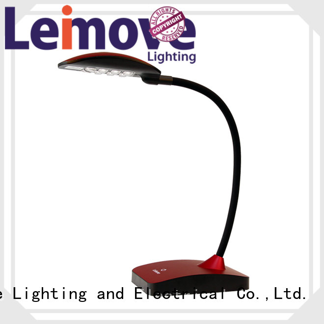 Wholesale silver led desk lamp Leimove Brand
