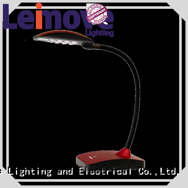 Leimove Brand reading modern led desk lamp brown supplier