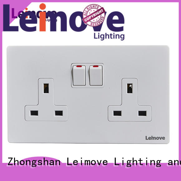 Leimove custom world power sockets ODM custom
