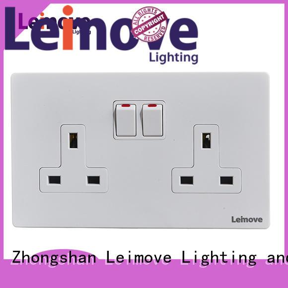 Leimove custom world power sockets ODM custom