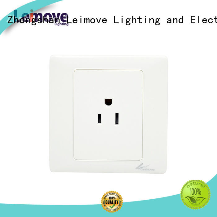 Leimove Brand double replace custom wall power socket
