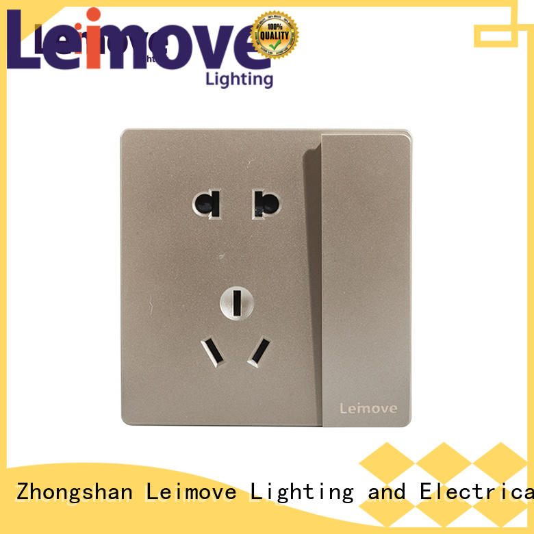 custom 3 pin power socket lingmai series OEM factory price