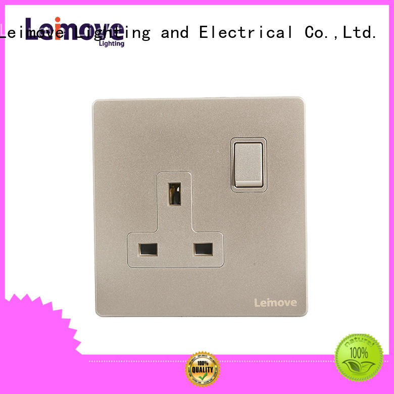 Leimove sand stone 3 plug socket OEM at discount