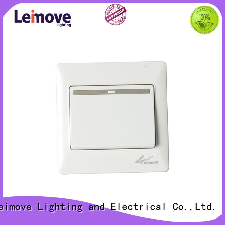 Leimove large illuminated light switch high quality for sale