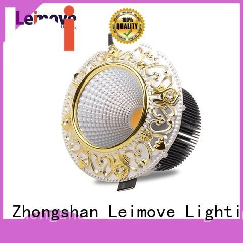 whlte dimmable round led spot light Leimove Brand