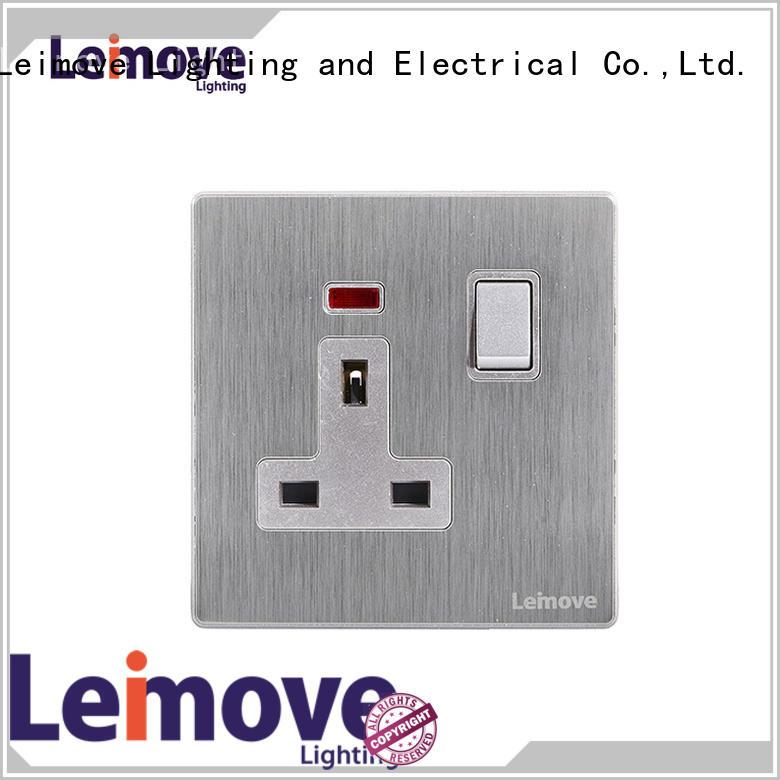 Leimove lingmai series electric wall sockets wholesale custom
