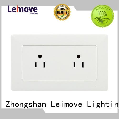 Wholesale european wall power socket electric Leimove Brand