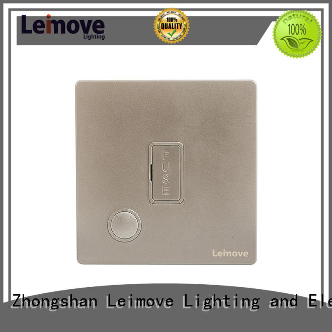 Leimove lingmai series fused spur socket free delivery for sale