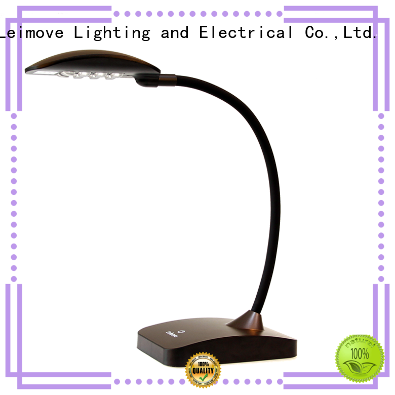 gold table dimmable modern led desk lamp Leimove manufacture