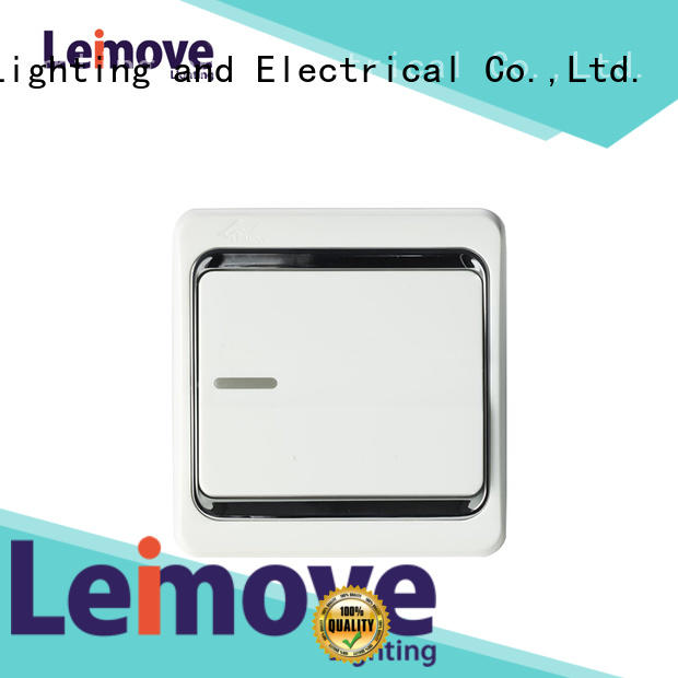 year three gang switches and sockets Leimove Brand