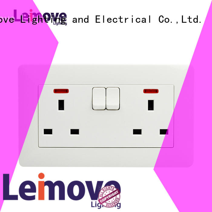 Leimove replace wall plug socket high quality for wholesale