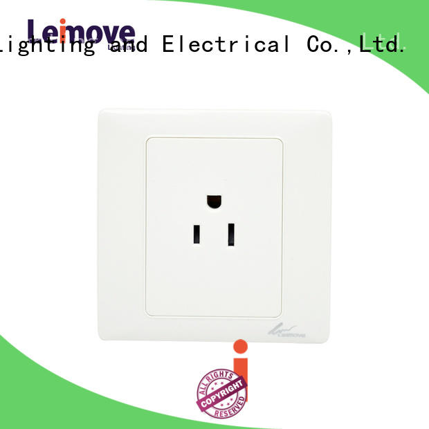 Leimove Brand socket wall power socket european supplier
