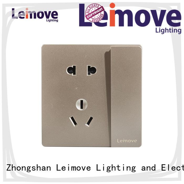Leimove lingmai series silver plug sockets wholesale factory price