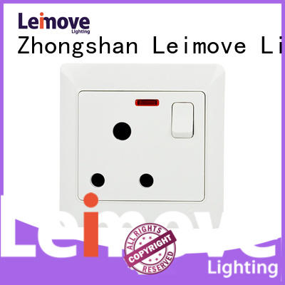 electric wall sockets double for wholesale Leimove