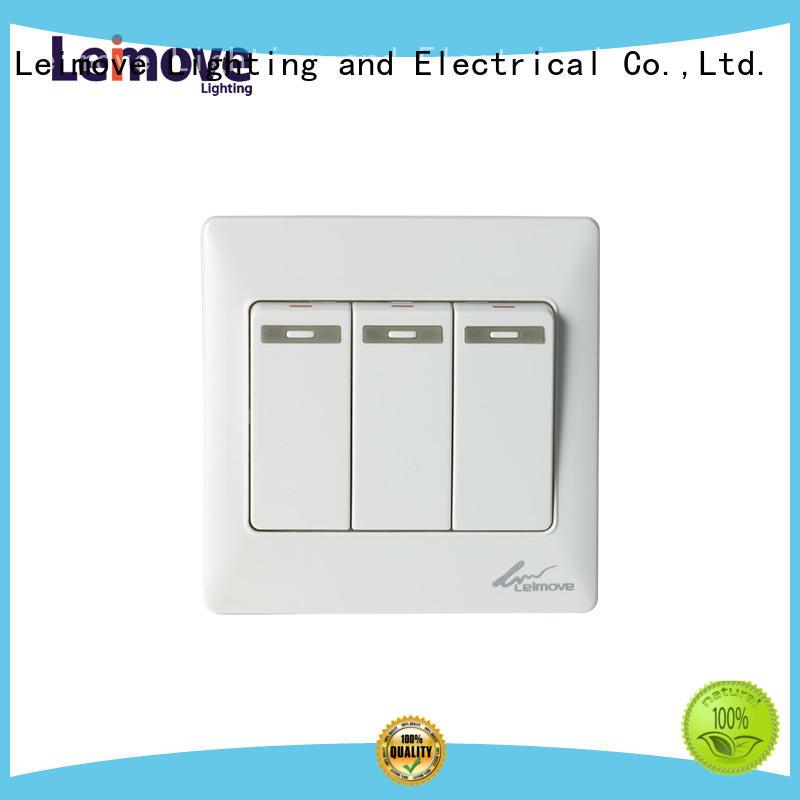 two one electrical Leimove Brand light switch plates factory