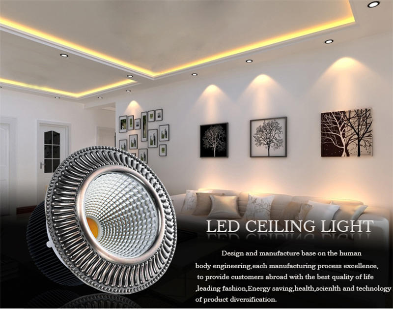 Leimove-Led Spot Gu10 | 2017 New Cob Dimmable Led Downlight Malaysia, With 120mm-1