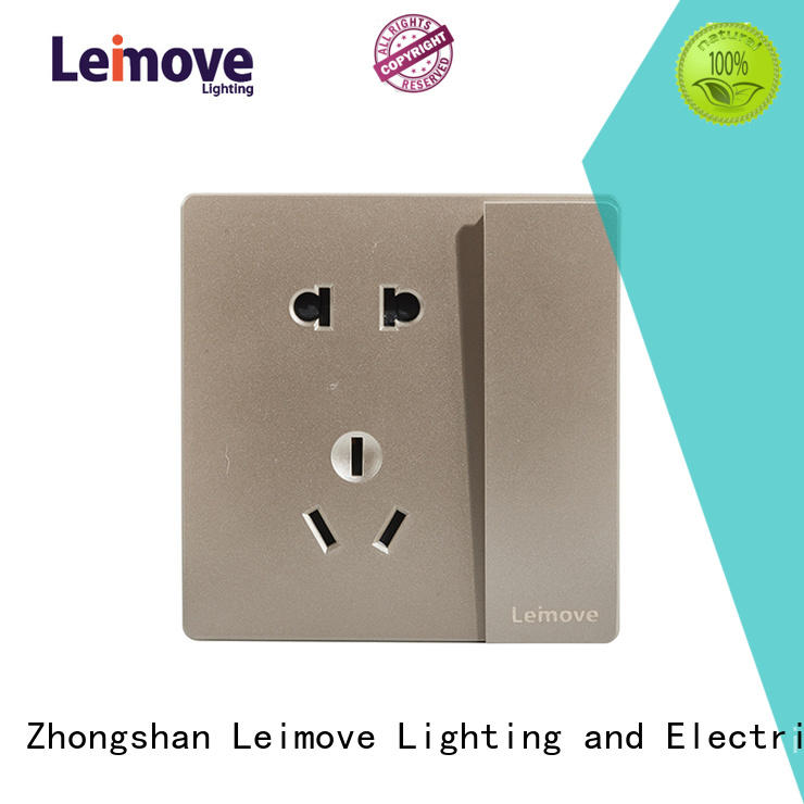 Leimove wire drawing auxiliary power socket OEM at discount