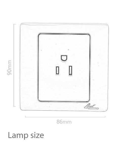 Leimove-220v European Electrical Wall Outlet Socket | Ling Tong Series Manufacture-1