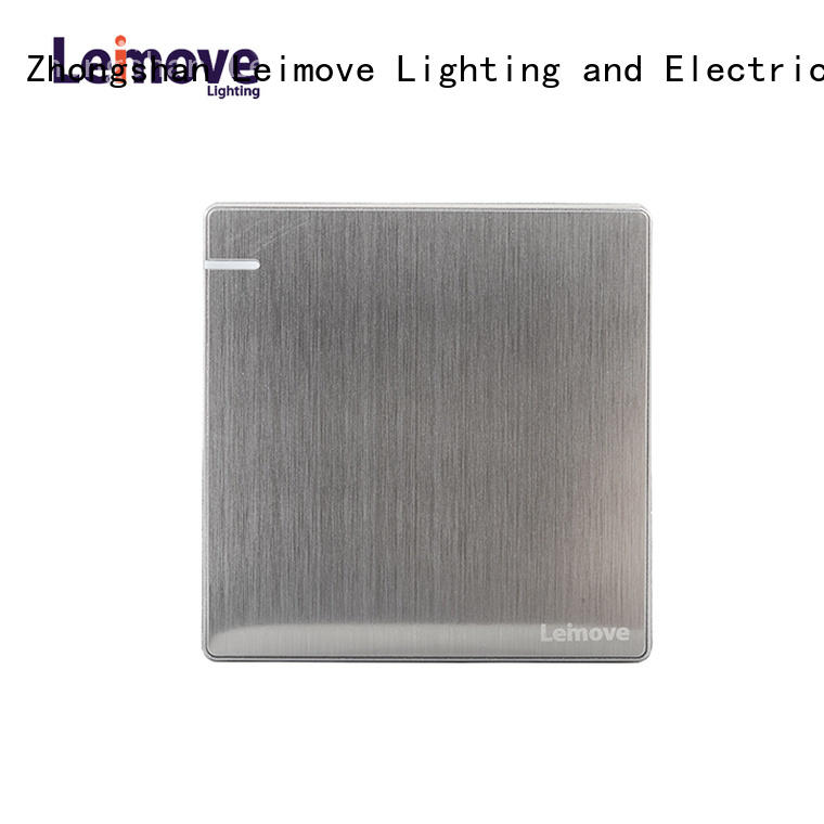 Leimove high quality modern electrical switches stainless steel for wholesale