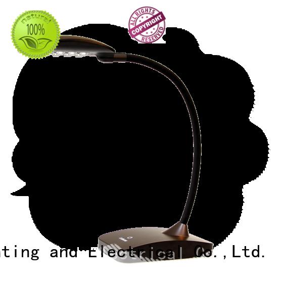 reading led brown gold modern led desk lamp Leimove Brand