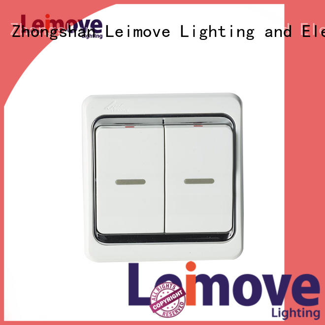 three one single light switch door sale Leimove Brand