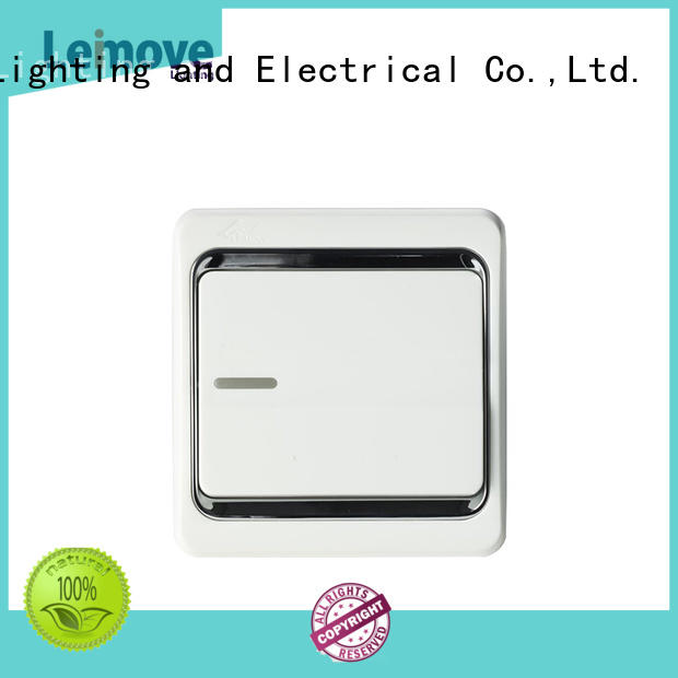 Leimove Brand bell one single light switch