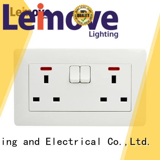 Hot socket outlet fluorescent Leimove Brand