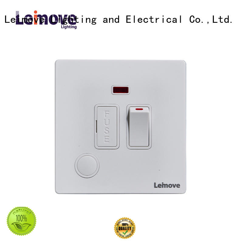 Leimove sandstone gold small electric switch universal for customization