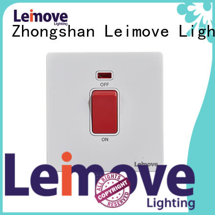 Leimove durable electronic on off switch bulk order for customization