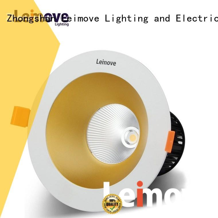 energy-saving recessed adjustable led downlights custom made for customization Leimove