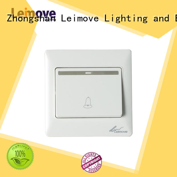 Leimove Brand bell switch pc electrical on off switch