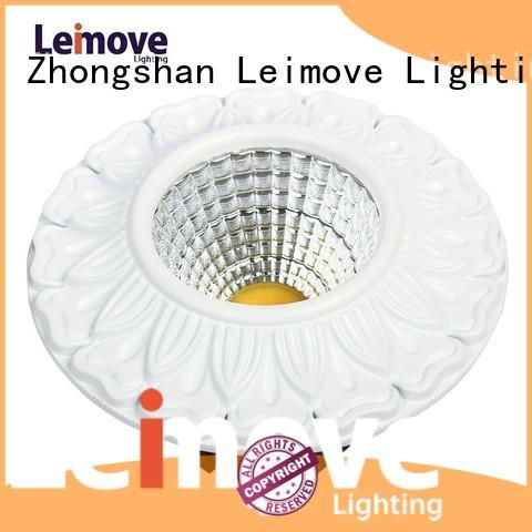 Leimove Brand round spot led downlights supplier