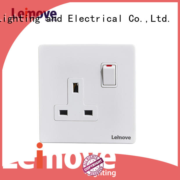 stainless steel new wall sockets wholesale factory price Leimove