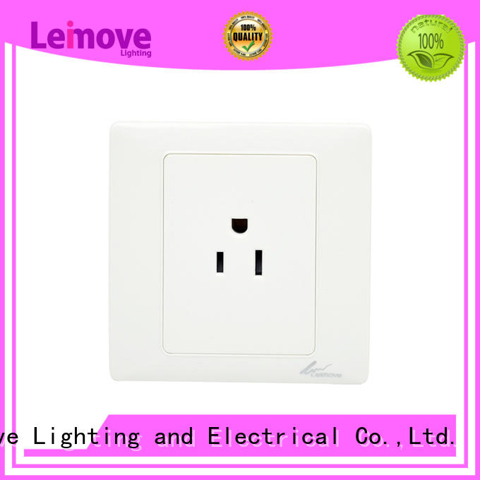 wall power socket extention shaver socket outlet Leimove Brand