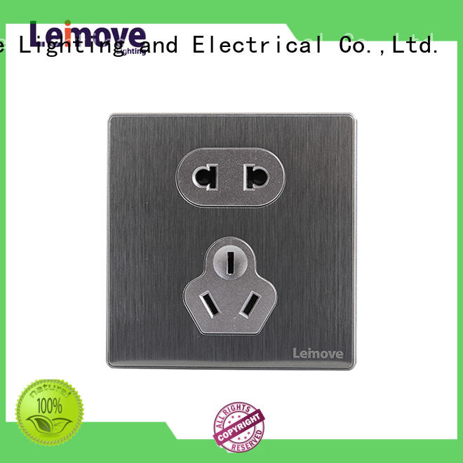 wire drawing plug and socket lingmai series at discount Leimove