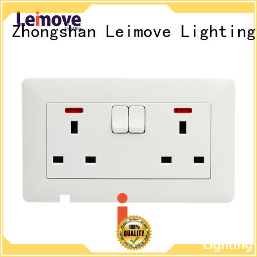 wall power socket extention gang waterproof socket outlet manufacture