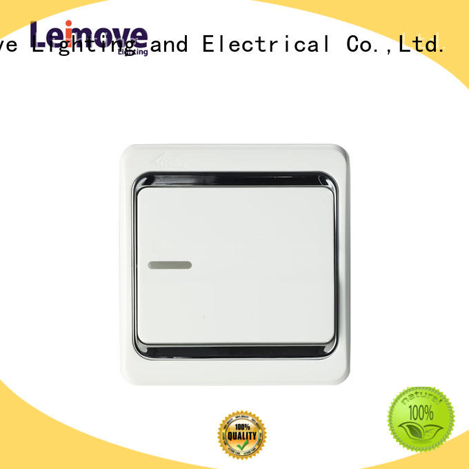 single light switch switch switches and sockets Leimove Brand
