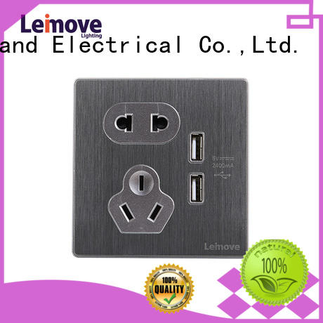 Leimove gold international socket OEM at discount