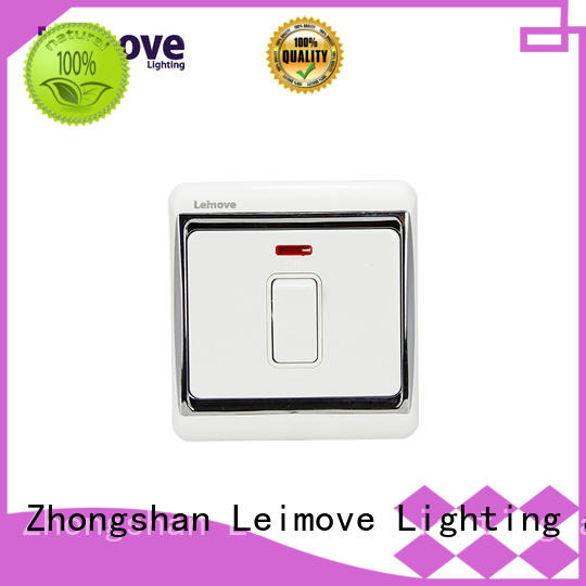 single light switch bell Leimove Brand switches and sockets