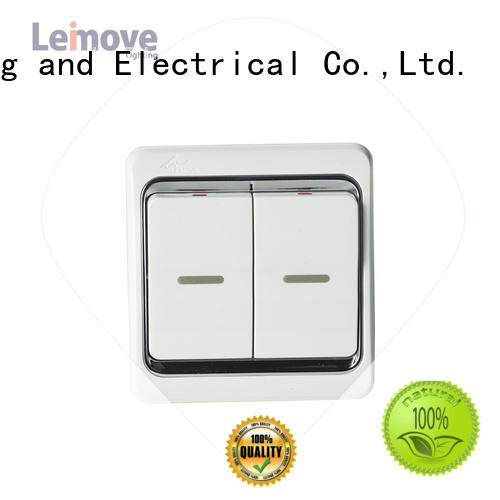 Leimove single connection switches and sockets good appearance for sale