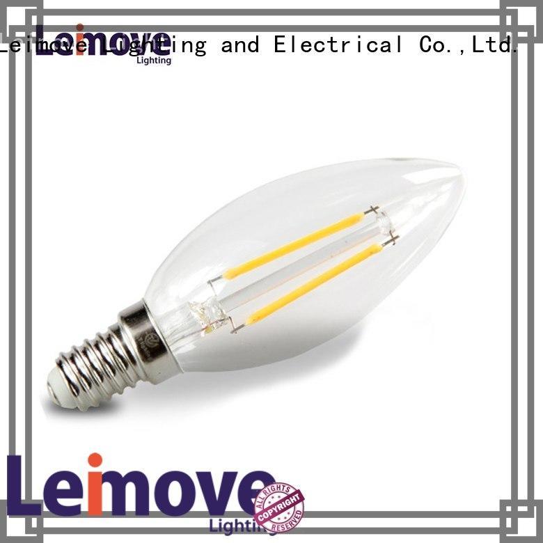 oem Custom rgb led light bulbs for home filament Leimove