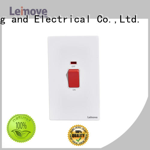 Leimove stainless steel small electric switch top manufacturer for decoration
