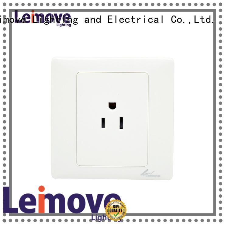 mounted waterproof socket outlet wall Leimove Brand company