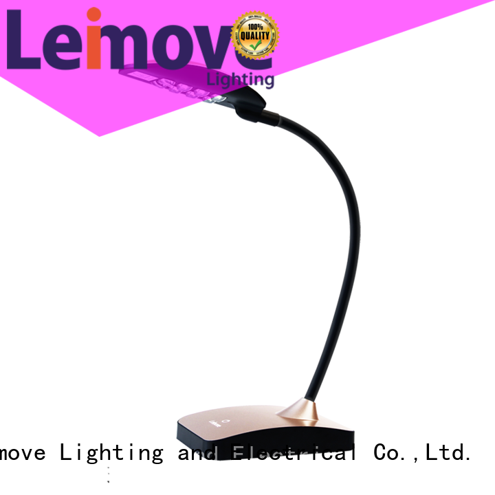 Leimove brown led study lamp bulk production for student