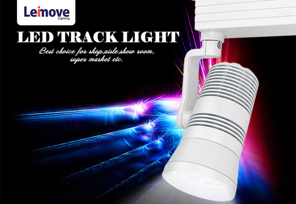 Leimove-Professional High Cri 30w Commercial Dimmable Led Track Lighting Fixture-1