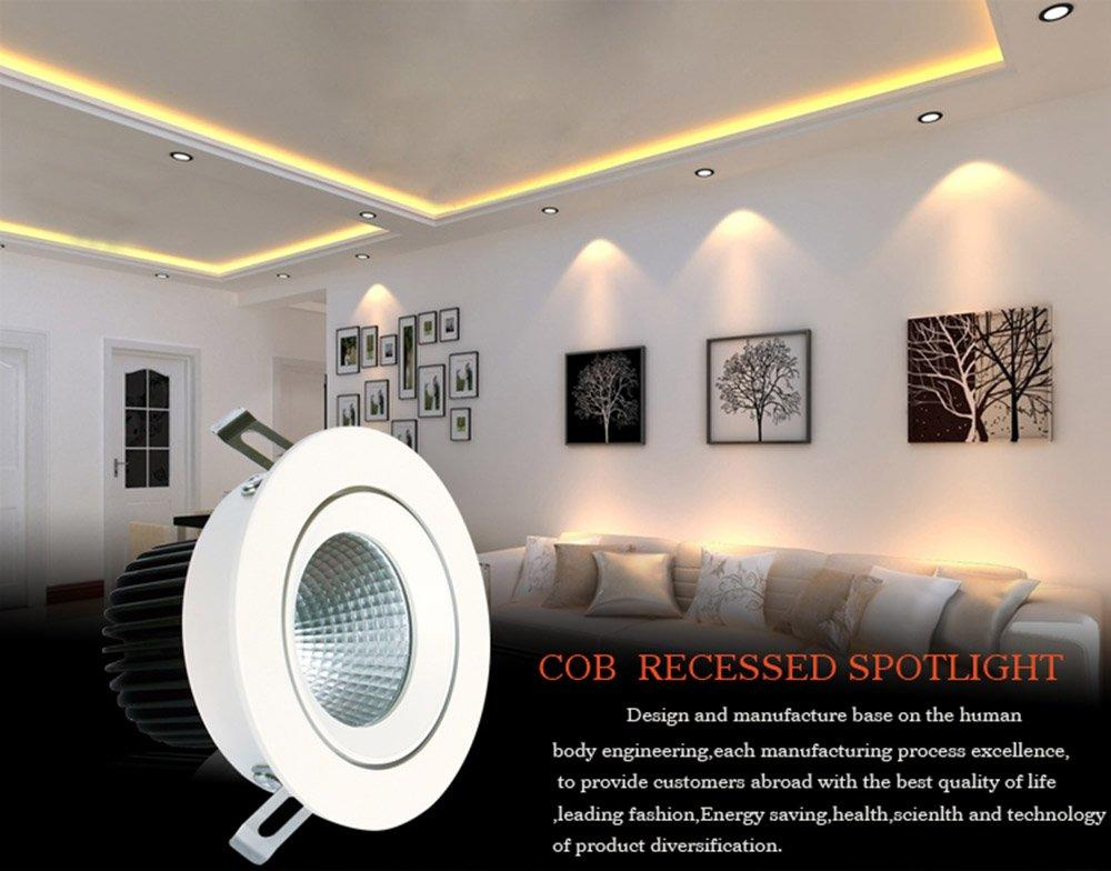 Leimove gold spot led gu10 recessed-1